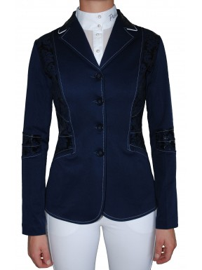 Navy 'Mila' Competition Jacket