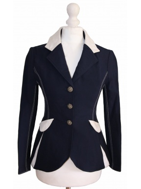 Navy Vittoria Competition Jacket